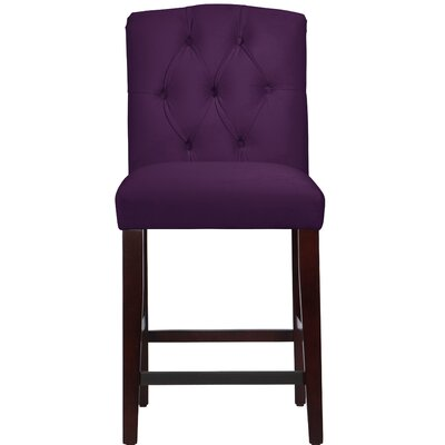 Darby Home Co Cyrus Tufted Bar Stool
