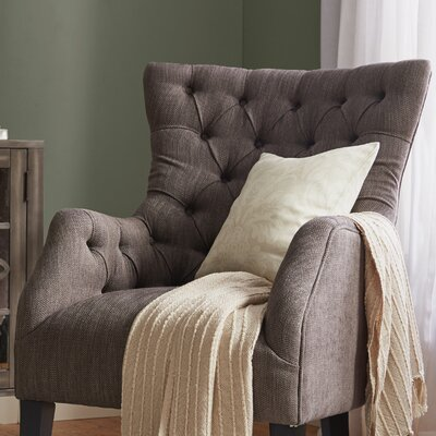 Darby Home Co Steelton Button Tufted Wing Back Arm Chair