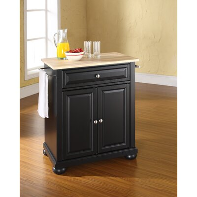 Darby Home Co Pottstown Kitchen Cart