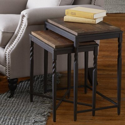 Darby Home Co 2 Piece Nesting Tables