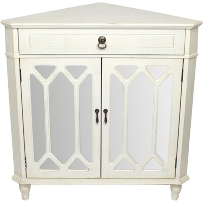 Darby Home Co Hannah Wooden Corner Accent Cabinet & Reviews | Wayfair