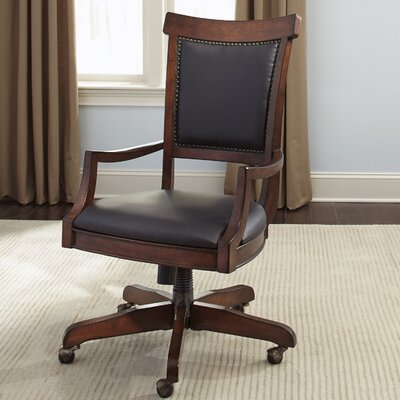 Three Posts Ashland Executive High-Back Desk Chair with Caster