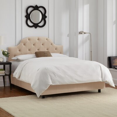 Alcott Hill Edgeworth Upholstered Panel Bed
