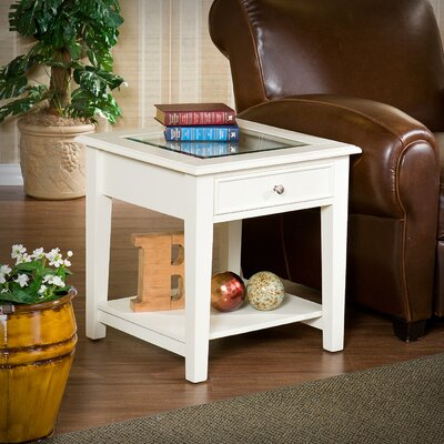 Alcott Hill Adeline 1 Drawer End Table