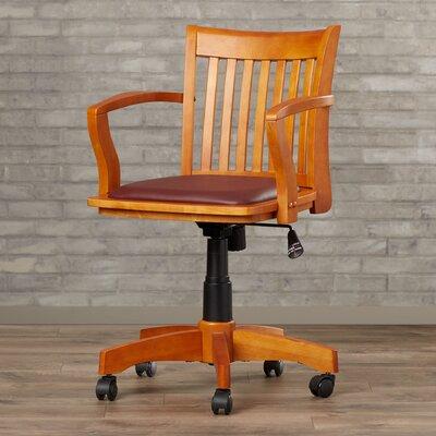 Alcott Hill Celina Mid-Back Deluxe Banker's Chair