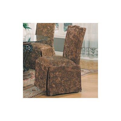 Alcott Hill Burley Oak Parsons Chair (Set of 2)