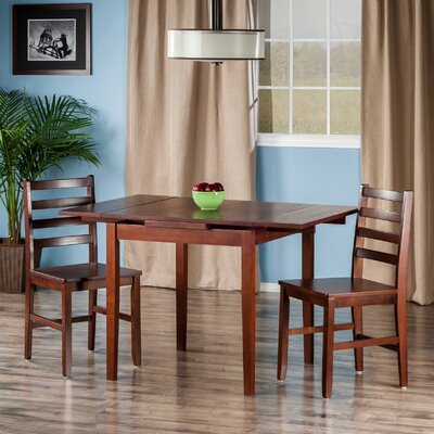 Alcott Hill Shaws 3 Piece Dining Set