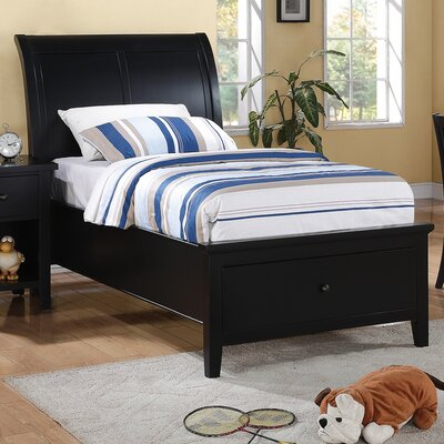 Alcott Hill Blackwell Storage Sleigh Bed