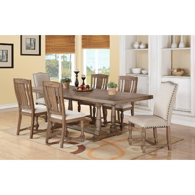 Alcott Hill Wren 7 Piece Dining Set