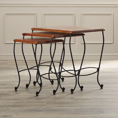 Alcott Hill Baxter 3 Piece Nesting Tables