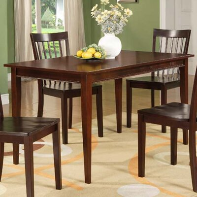 Alcott Hill Ameswood Wood Dining Table