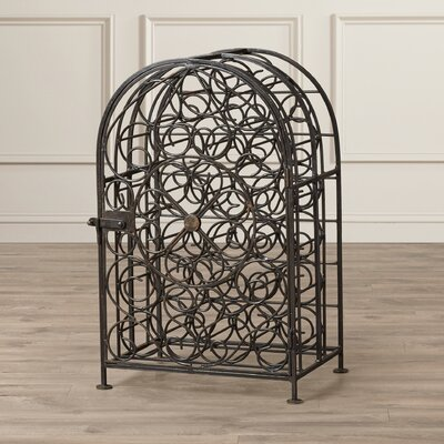 Alcott Hill Coleman 23 Bottle Floor Wine Rack