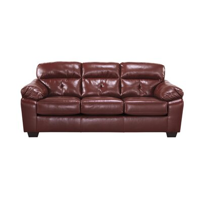 Alcott Hill Andalusia Leather Sofa