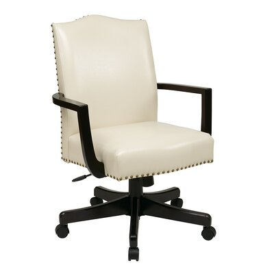 Alcott Hill La Brea High-Back Leather Executive Office Chair