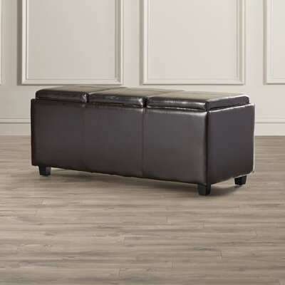 Simpli Home Avalon Rectangular Storage Ot..