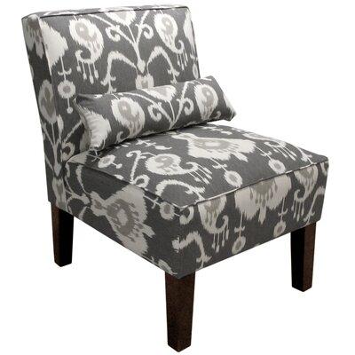 Alcott Hill Ikat Slipper Chair