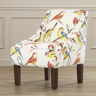 Alcott Hill Wilburton Upholstered Slipper Chair