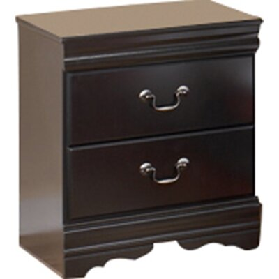 Alcott Hill Waterford 2 Drawer Nightstand