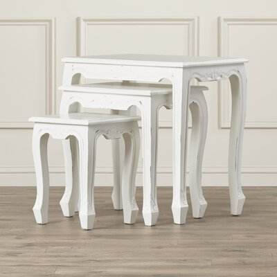 Alcott Hill Oliver 3 Piece Nesting Tables