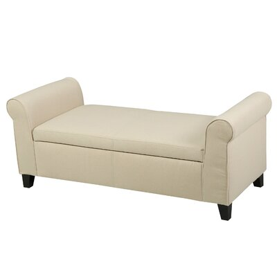 Alcott Hill Varian Upholstered Storage Be..