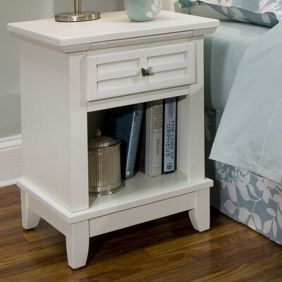 Alcott Hill Lakeview 1 Drawer Night Stand