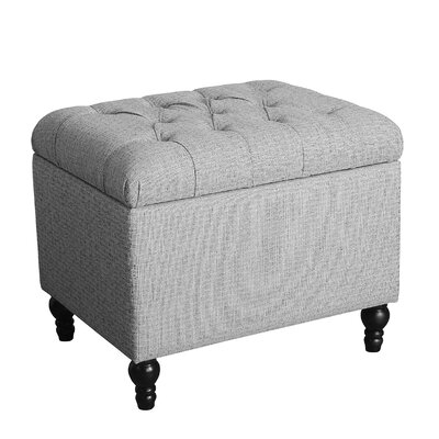 Alcott Hill Newstead Medium Tufted Storage Ottoman