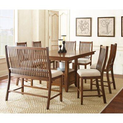 Alcott Hill Kayan 8 Piece Dining Set