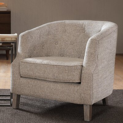 Alcott Hill Catalpa Chesterfield Barrel Chair