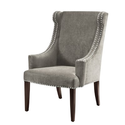 Alcott Hill Farley High Back Wing Arm Chair