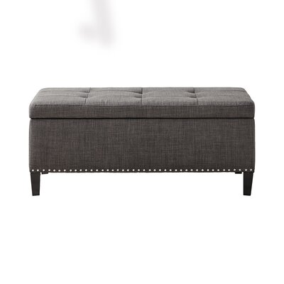 Alcott Hill Bretton II Tufted Top Storage Ottoman