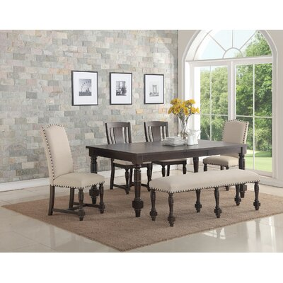 Alcott Hill Wilhelmina Extendable Dining Table