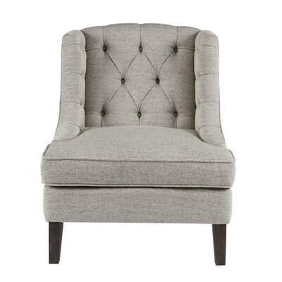Alcott Hill Hodgson Button Tufted Wingback Chair