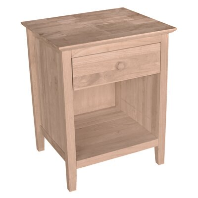 Alcott Hill Sommerville 1 Drawer Nightstand