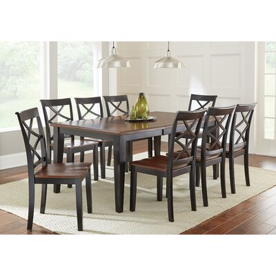 Charlton Home Rani 9 Piece Dining Set