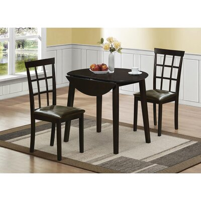Charlton Home Drop Leaf Dining Table