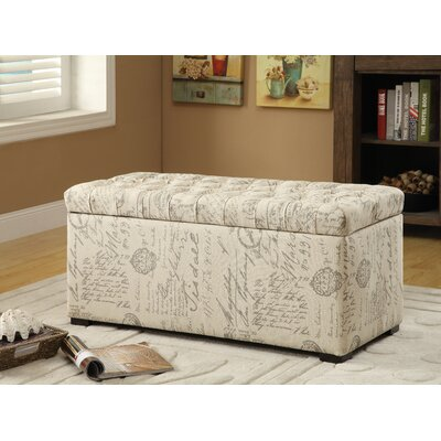 Charlton Home Ander Storage Bench