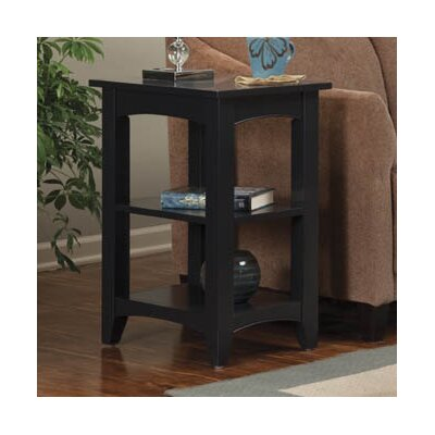 Charlton Home Birch Creek Two Shelf End Table