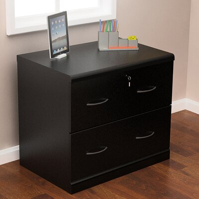 Charlton Home Bernewelt 2 Drawer File Cabinet