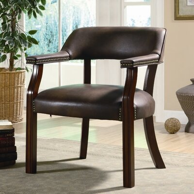 Charlton Home Walford Vinyl Home Office Arm Chair