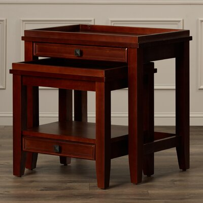 Alcott Hill Nelsonville 2 Piece Nesting Tables