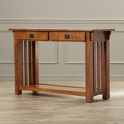 Leick Furniture Mission Impeccable Console Table