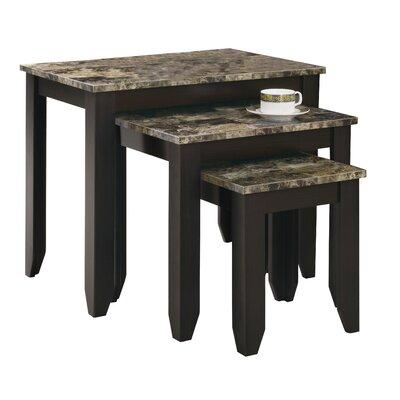 Charlton Home Boneta 3 Piece Nesting Tables