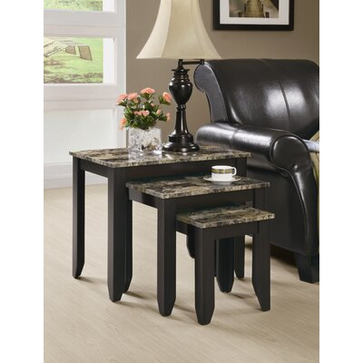 Charlton Home Boneta 3 Piece Nesting Tables