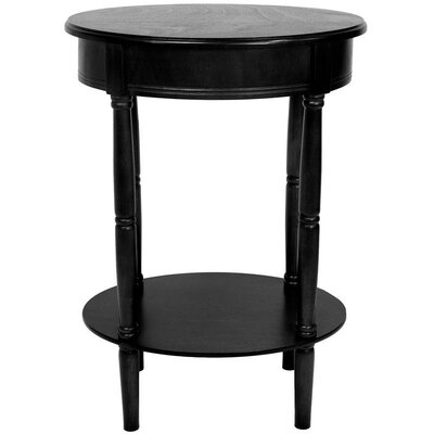 Charlton Home Adelphi Oval End Table