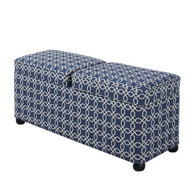 Charlton Home Centreville Upholstered Storage Be..