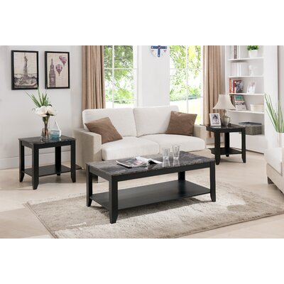 Charlton Home Norris 3 Piece Coffee Table Set