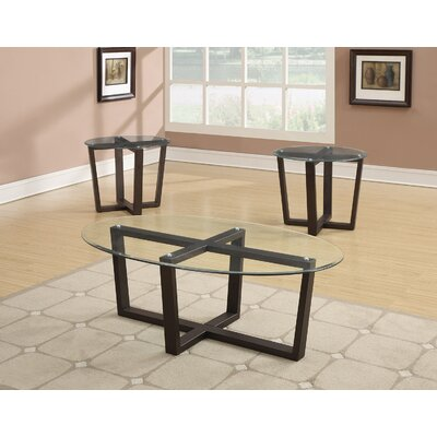 Andover Mills Cardinal 3 Piece Coffee Table Set