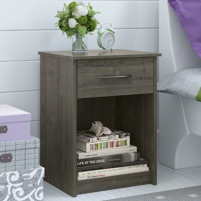 Varick Gallery Murray 1 Drawer Nightstand