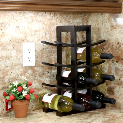 Varick Gallery Edgemont 12 Bottle Tabletop Wine ..