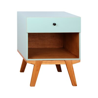 Varick Gallery Amoroso 1 Drawer Nightstand